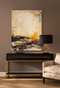 John-Richard Collection Midnight Console Table - All About Decoration Living Room Cabinets, Wall Decor, Room Decor, New Interior Design, Wood Detail, Abstract Wall Art, Diy Furniture, Furniture Online, Home Furnishings