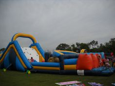 Obstacle Courses Inflatable Chicago Party Rentals
