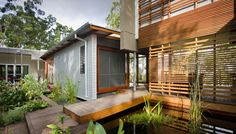Pavilion chic by Tim Stewart Architects - Designhunter - Sustainable Architecture with Warmth & Texture