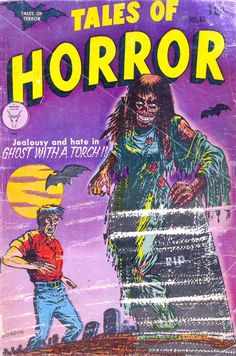 Tales of Horror 13 (Toby/Minoan) - Comic Book Plus Book Cover Art, Comic Book Covers, Comic Books, Sci Fi Comics, Horror Comics, Creepy Comics, Horror Tale, Horror Themes, Horror Books