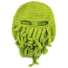 Want to have a special look in the street? Looking for a fun gift for your friend? The most creative cool hat ever! It is super-cute and funny! 100% Handmade One size fits (almost) all Material : Acry