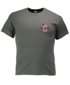 New World Graphics Men's Texas A&M Aggies State Sportsman T-Shirt - Gray