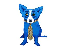 George Rodrigue Tie Me Up painting art sale, painting