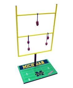 Take a look at this Michigan Double Football Toss Game by Wild Sports on #zulily today!