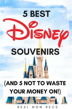 Don't overspend at the Walt Disney World parks! These are the 5 best Disney souvenirs for kids, and 5 you shouldn't waste your money on. Make your Disney trip even more magical by enjoying the best fun products for less.