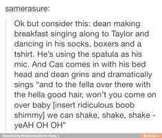 But guys!!! Imagine if this actually happened in the show! I would probably have so many feels.....
