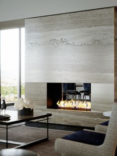 LOVE this fireplace! ~ Great pin! For Oahu architectural design visit http://ownerbuiltdesign.com
