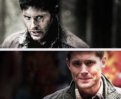 [SET OF GIFS] The first and last time Dean sees Benny.  8x01 We Need to Talk About Kevin and 8x19 Taxi Driver