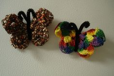 Butterfly Magnets by mstutzmn, via Flickr