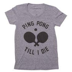 Fab.com   Ping Pong Tee Women's
