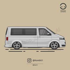 KombiT1: Volkswagen T5 @dact5