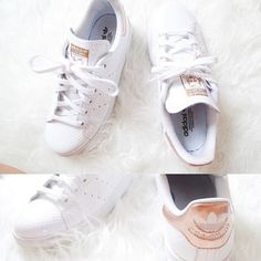 Image result for adidas stan smith gold Tenis Adidas 67ee633ffcf0f