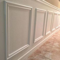 diy molding on walls a step by step tutorial on how to easily install wainscoting anywhere in your home if i can do you i promise you can too for the home diy molding on walls