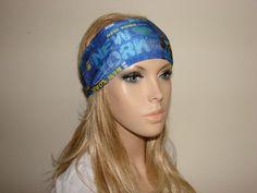 New York yoga headband  workout headband  by OtiliaBoutique