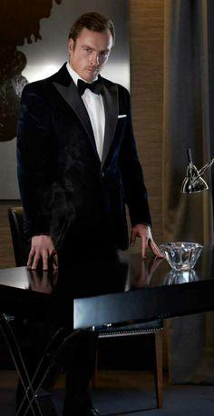 Dressed in Hackett  -  Toby Stephens  -  February 1st  -  Vanity Fair Photoshoot