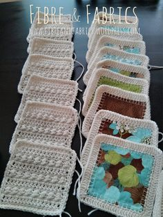 #Crochet Fusion Quilt | Fibreandfabrics Blog