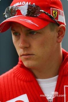 Another of Kimi Räikkönen in 2007 Ferrari Scuderia, Ferrari F1, The Iceman Cometh, Daniel Ricciardo, Sports Celebrities, F1 Drivers, Lewis Hamilton, F1 Racing, Car And Driver