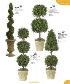 Spruce Topiary | ARTIFICIAL FLOWERING PLANTS SILK FLORAL STEMS