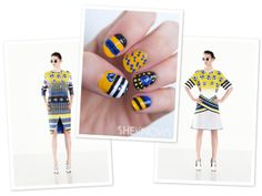 How-to: Prabal Gurung-inspired floral nail design