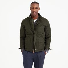 Sussex quilted jacket : coats & jackets | J.Crew