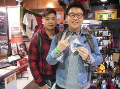 【大阪店】2015.01.29 香港からお越しくださいました~♫素敵なお写真ありがとうございます(*^_^*)
