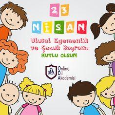 23 Nisan Ulusal Egemenlik ve Çocuk Bayramı kutlu olsun!  #ODA #23Nisan #onlinedilakademisi
