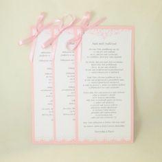 Hand-Crafted by Gabi M.: {WEDDINGS} Na přání růžový set Vintage Lace s úpravou Vintage Lace, Cardmaking, Crocheting, Challenges, Scrapbook, Weddings, Personalized Items, Blog, Diy