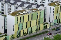 Bepflanzung von Dächern - Grüne Häuserschluchten