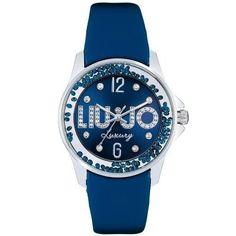 Orologio Liu Jo Luxury Dancing Blu con Cristalli TLJ22 con borsetta  Movimento al quarzo Miyota. ac09ad59970