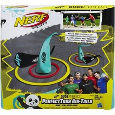 Nerf Sports Dude Perfect PerfectToss Air-Tails Game - Walmart.com