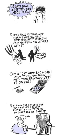 """10 Ways To Get Rid Of Your Bad Mood""  2010"