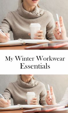 Returning to work in the New Year always has me rethinking my wardrobe. How to stay warm, comfortable and professional? These are my winter workwear essentials.
