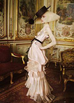 Grace Coddington styling for September Issue Vogue