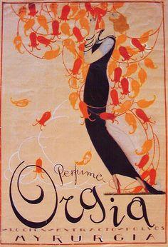carteles modernistas catalanes - perfumes myrurgia