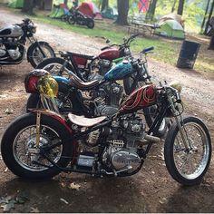 56 отметок «Нравится», 3 комментариев — 卍 XS650 Choppers 卐 (@xs650heavyhitters) в Instagram: «@pugsly_dude, @speedandnoise, and @thefatguido at Gypsy Run in 2016. Good little line-up of 650s!»