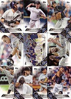 2016 Topps Series 1 Colorado Rockies Baseball Card Team Set - 10 Card Set - Includes Nolan Arenado, Charlie Blackmon, Nick Hundley, Chad…