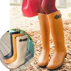High Reputation Fashion Rubber Women Hunte Rain Boot Long ...