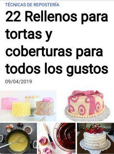 Guía QUIEROCAKES de Rellenos para Tortas #quiero #quierocakesblog