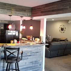 Barn Wood Paneling Barn Wood Planks can now be easily installed in your home. We offer Reclaimed Barn Wood Planks for walls. Reclaimed Wood Projects, Reclaimed Barn Wood, Weathered Wood, Wood Plank Walls, Wood Planks, Wood Paneling, Stick On Wood Wall, Wood Sticks, Gallery Wall Layout