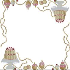 tovaglia dolci (2) Counted Cross Stitch Patterns, Blackwork, Cupcakes, Gallery, Board, Table, Cross Stitch, Table Toppers, Needlepoint