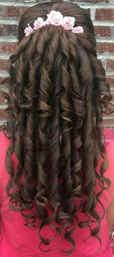 Curl Curl, Present Day, Curled Hairstyles, Curling, Dreadlocks, Hair Styles, Hot, Wedding, Beauty
