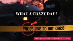 What a CRAZY day !!!!   ISHRAJ S. INDERJEET   Vlog 31 ✔️