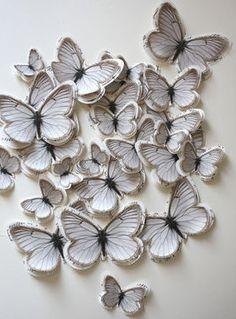 paper butterflies. Nx
