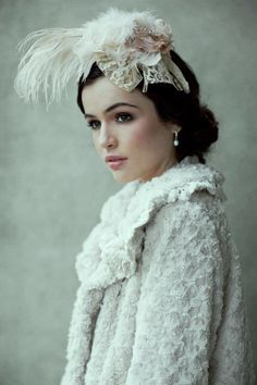 lovely...looks like she just stepped out of Downton Abbey