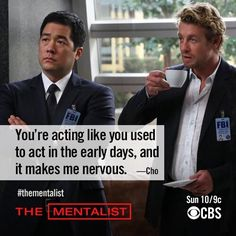 Simon Baker ~ The Mentalist