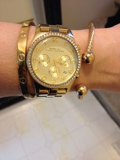 Arm candy of the day @princesspjewelry and @marcjacobs