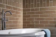 Artisan Taupe Subway Tile Handcrafted x ceramic tiles feature an elegant hand-glazed look, in neutral tones of warm cocoa-brown that are easy to match with other MSI tiles in the Highland Park collection, as well as natural stone.