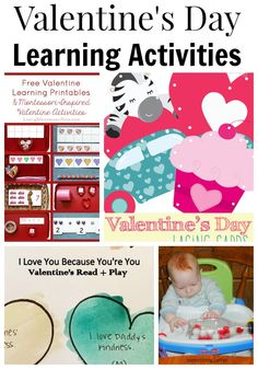 Valentine's Day Learning Activities via Adventures in Wunderland