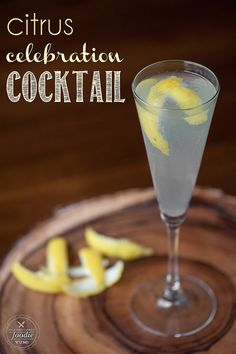 If you're looking for a fabulous party cocktail made with champagne and is easy to make for a crowd, this Citrus Celebration Cocktail is the perfect choice! {Self Proclaimed Foodie}