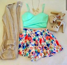 Such a cute combination ♥♥♥